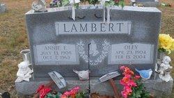 Anna Elizabeth <I>Summerfield</I> Lambert