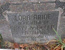 Lora Arine Lambert