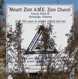 Mount Zion AME Zion Church Cemetery