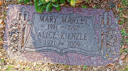 Alice <I>Marley</I> Kienzle