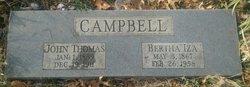 Bertha Iza <I>Compton</I> Campbell