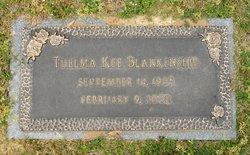 Thelma Embry <I>Kee</I> Blankenship