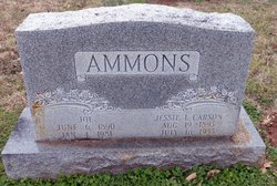 Jessie L <I>Carson</I> Ammons