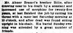 """William T. """"Billie"""" Bramel"""