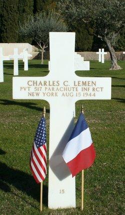 Pvt Charles C Lemen
