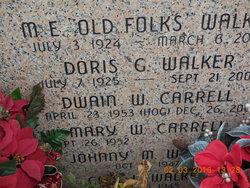 "Marvin Eldridge ""Old Folks"" Walker"