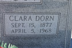 "Clarissa Emily ""Clara"" <I>Dorn</I> Callison"