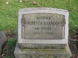Rebecca Jane <I>Titzel</I> Sander