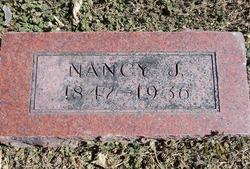 Nancy Jane <I>Barlow</I> Butler