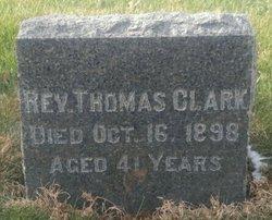 Rev Thomas Clark