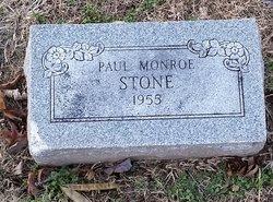 Paul Monroe Stone