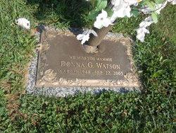 Donna G Watson