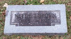 Nettie <I>Thomas</I> Brown