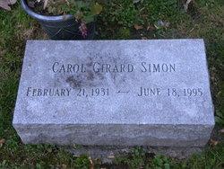 Carol <I>Girard</I> Simon