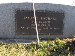 "James F ""Jim"" Zachary"