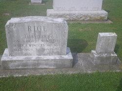 Mary J <I>Winters</I> Rice