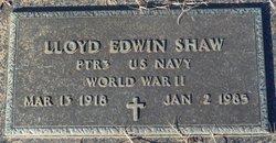 Lloyd Edwin Shaw