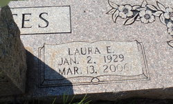 Laura Elizabeth <I>Conner</I> Bates