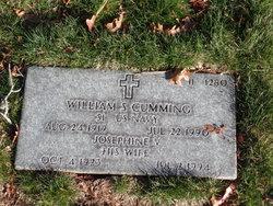 William S Cumming