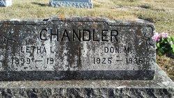 Leatha L <I>Hartman</I> Chandler