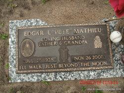 """Edgar Leon """"Pete"""" Mathieu"""