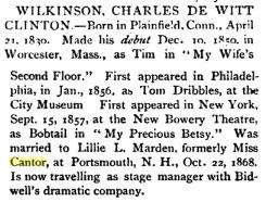 Charles DeWitt Clinton Wilkinson