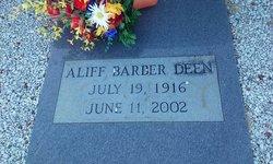 Aliff Mildred <I>Barber</I> Deen