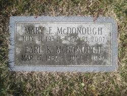 """Earl Kenneth """"Baldy"""" McDonough, Sr"""