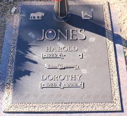 Dorothy Dee <I>Hackett</I> Jones