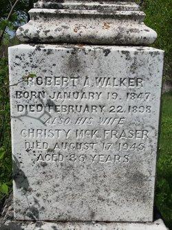 Robert A Walker