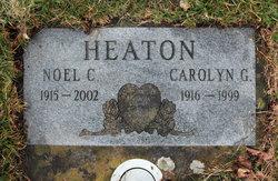 Carolyn G <I>Hendrix</I> Heaton
