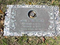 Winnie L Richardson