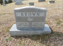 Otto M Brown