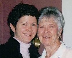 Linda Abbott Bennett & Dorothy Alley Abbott