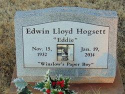 """Edwin Lloyd """"Eddie"""" Hogsett"""