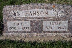 "Jens Erickson ""Jim"" Hanson"