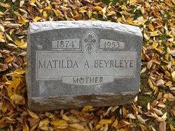 Matilda <I>Wernert</I> Beyrleye