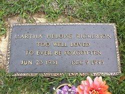 Martha Heloise Rickerson