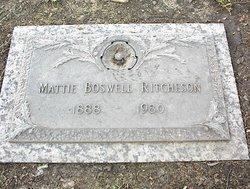 Mattie <I>Boswell</I> Ritcheson