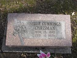 Bessie <I>Cummings</I> Chrisman