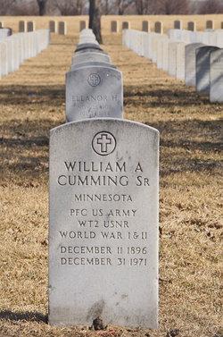 William A Cumming, Sr