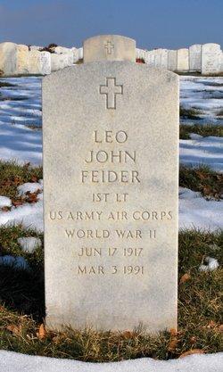 Leo John Feider