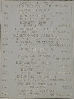 PFC Joseph Paul Donahue