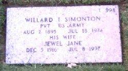 Willard I Simonton