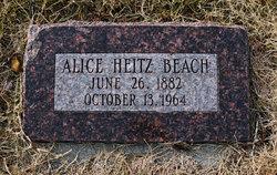 Alice <I>Heitz</I> Beach