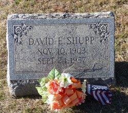 David E Shupp