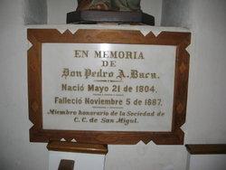 Pedro Antonio Baca