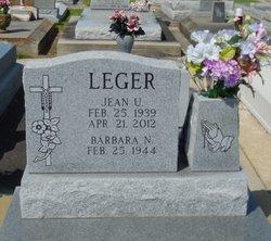 """Jean U. """"T. B."""" Leger"""