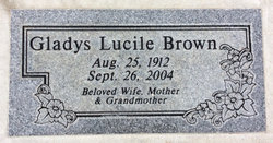 Gladys Lucile Brown