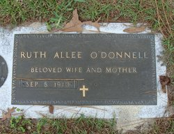 Ruth Rowena <I>Allee</I> O'Donnell